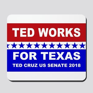 Ted works for Texas Mousepad