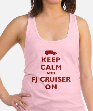keep-calm-fl-circle Racerback Tank Top