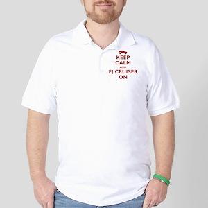 keep-calm-fl-circle Golf Shirt