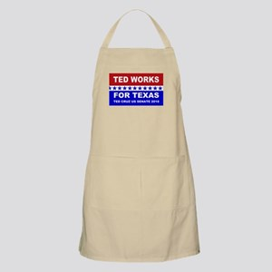 Ted works for Texas Light Apron