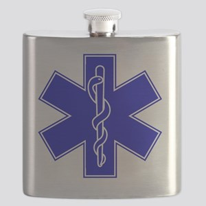 star-of-life-blue Flask