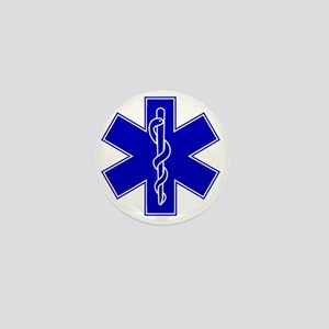 star-of-life-blue Mini Button