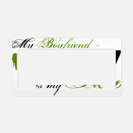 bf License Plate Holder