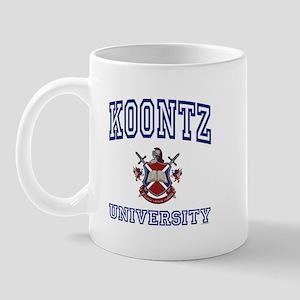 KOONTZ University Mug