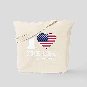 USA Love - dk Tote Bag
