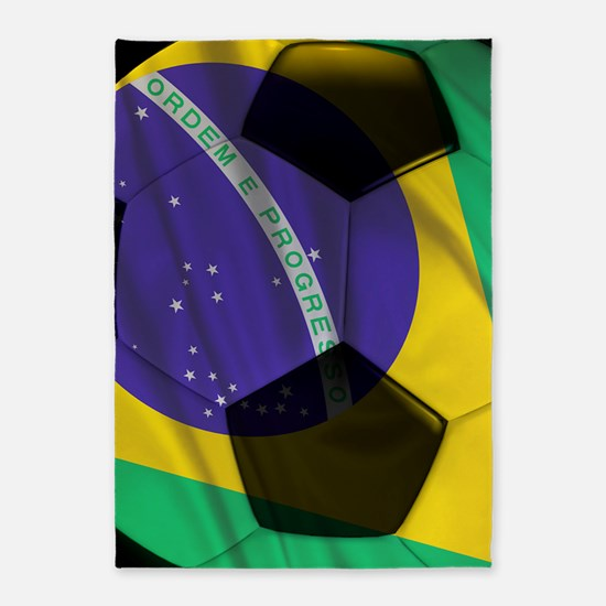 brazil stadium blanket 5'x7'Area Rug