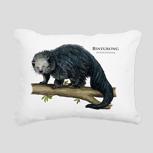Binturong Rectangular Canvas Pillow