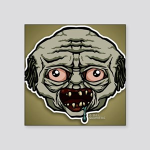 "kindle_img_zombie Square Sticker 3"" x 3"""