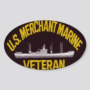 U S MERCHANT NARINE VET Sticker (Oval)