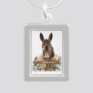Bad Ass Fun Donkey Humor Quote Necklaces