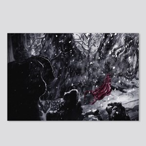 Little Red Riding Hood 1 Postcards (Package of 8)