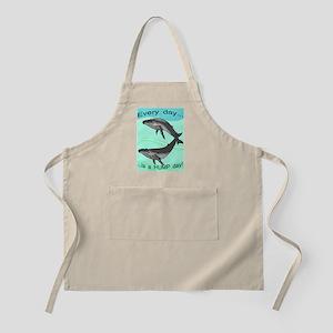 humpback shirt Apron