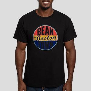 Boston Vintage Label W Men's Fitted T-Shirt (dark)