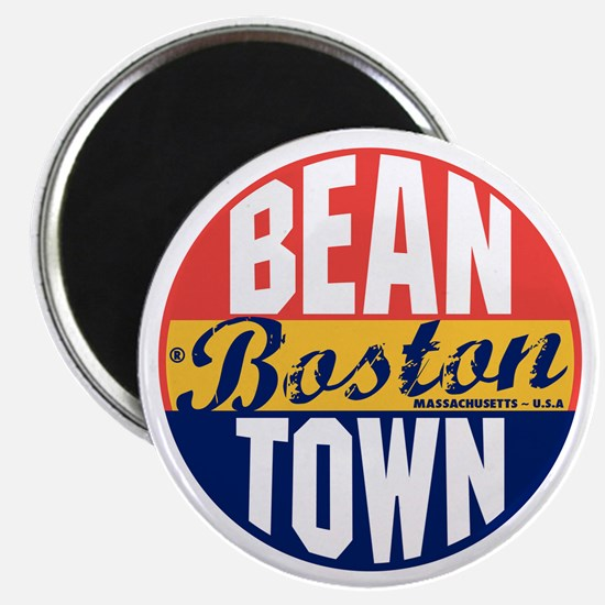 Boston Vintage Label B Magnet