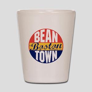 Boston Vintage Label B Shot Glass