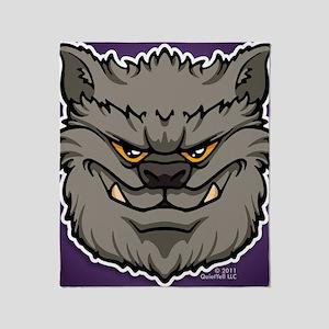 ipadsleeve_img_werewolf_gray Throw Blanket