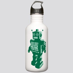 Robot Green Stainless Water Bottle 1.0L