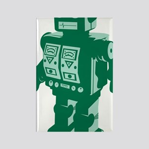 Robot Green Rectangle Magnet