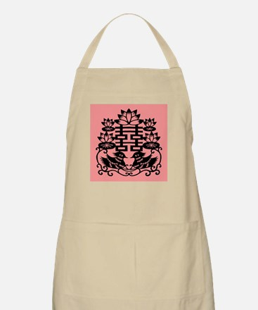 """""""Double Happiness"""" BBQ Apron"""