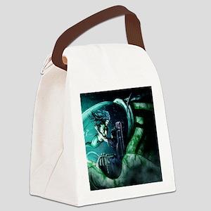 Mermaid 1 Canvas Lunch Bag