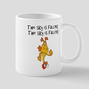 Sky is Falling Chicken Mugs