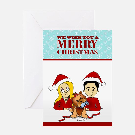 our christmas card F.png Greeting Cards