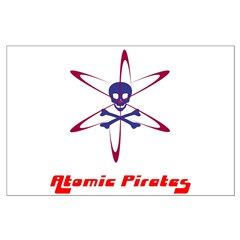 Atomic Pirages Posters