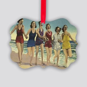 bathing beauties Picture Ornament