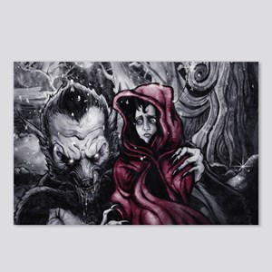 Little Red Riding Hood 2 Postcards (Package of 8)