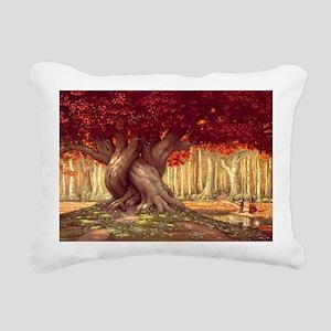 Heart of the World_Poste Rectangular Canvas Pillow