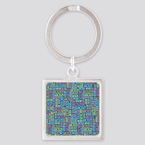 class_of_2013_03 Square Keychain