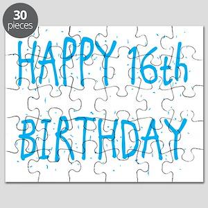 happy 16th birthday b Puzzle
