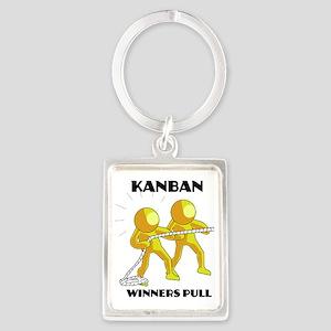 kanban3 Portrait Keychain