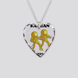 kanban3 Necklace Heart Charm