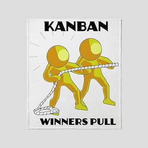 kanban3 Throw Blanket