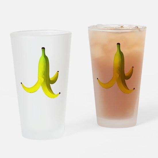 banana peel white Drinking Glass