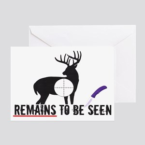 remainstobeseen Greeting Card
