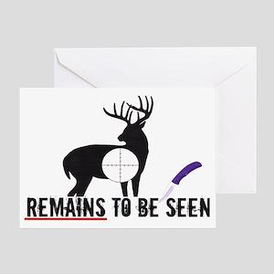 remainstobeseen Greeting Card