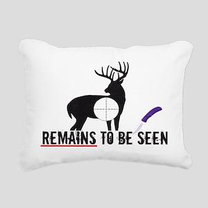remainstobeseen Rectangular Canvas Pillow