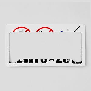 Newfs2012 License Plate Holder