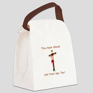 TheyHatedLiberalsXXX Canvas Lunch Bag