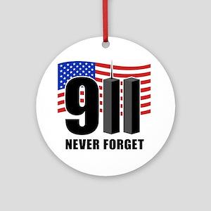 911 Round Ornament
