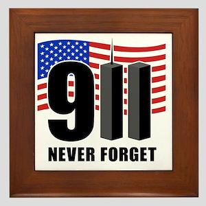 911 Framed Tile
