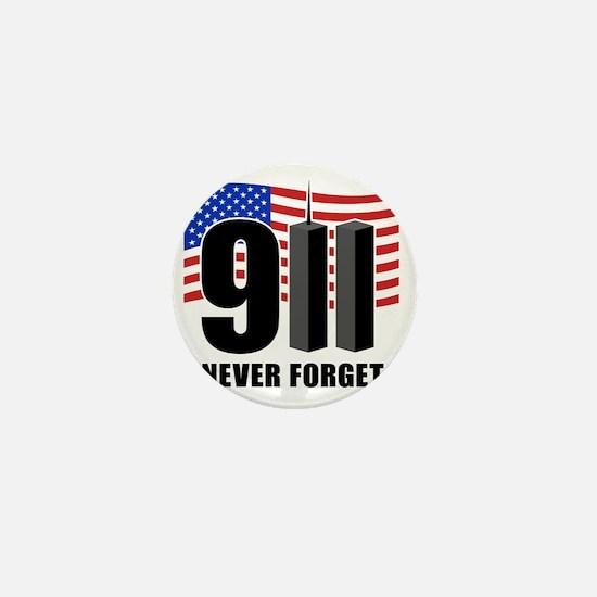 911 Mini Button