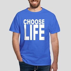 Choose Life Blue T-Shirt