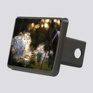 milkweed fluff Rectangular Hitch Cover