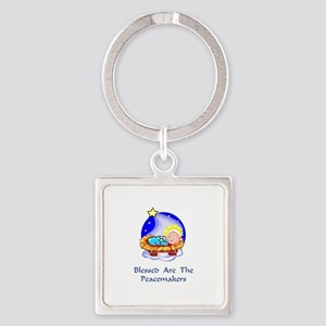 PeacemakersXXX Square Keychain
