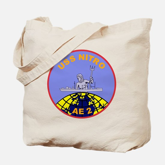 AE-2 USS Nitro Ammunition Ship Military P Tote Bag