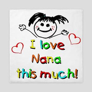 Nana This Much Queen Duvet