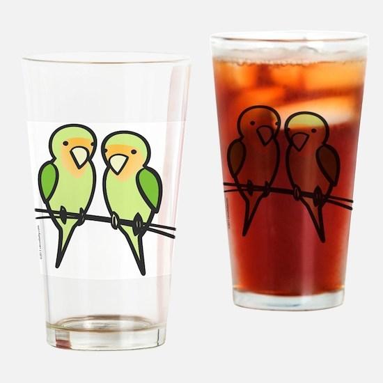lovebirds_only Drinking Glass